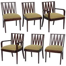 dining set for sale miami. classic 1940s paul frankl dining chairs for johnson furniture 1 set sale miami t
