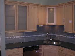 natural maple shaker kitchen cabinets photo al gallery image