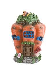 """<b>Фигура</b> декоративная для сада (с соларом) """"Морковный домик ..."""