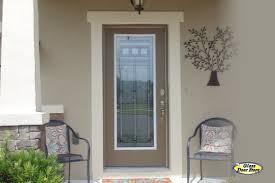craftsman style front doorsAmerican Craftsman Glass Insert for Fiberglass Entry Doors