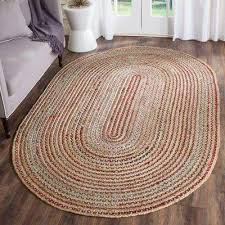 cape cod natural multi 4 ft x 6 ft oval area rug