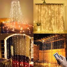 Curtain Led Lights Uk 15 28 Ollny Window Curtain Lights 3m X 3m Usb Powered 304