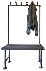 Industrial Pipe Coat Rack Industrial Coat Rack Kreyol Essence 83