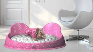 luxury dog bed furniture. Image Of: Luxury Dog Beds Pink Shapes Bed Furniture