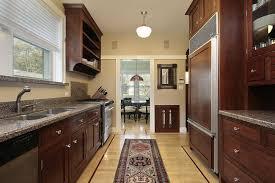 corridor kitchen design ideas contemporary galley kitchen shutterstock  galley kitchen