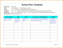 Action Plan Format 24 action plan format cashier resume 1