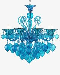 furniture chandelier creative european blue cartoon crystal lamp continental furniture wall lamp