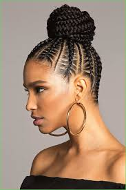 Black Hair Braided Bun Hairstyles Luxury Black Braided Updo