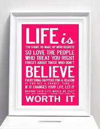 Picture Frames With Quotes Gorgeous Life Is Too Short' Quote Print Or Canvas By I Love Design