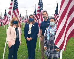 """Kyle Evans Gay on Twitter: """"Thank you to the #Rotary Club of Brandywine  Hundred for honoring our Veterans with Flags for Heroes 2020. I was able to  attend the beautiful ceremony this"""