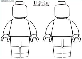 Lego Man Coloring Page Predragterziccom