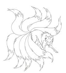 Naruto Nine Tails Coloring Pages Coloring Pages Naruto Nine
