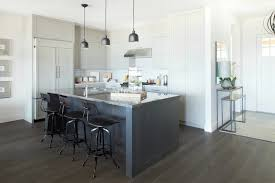 charcoal gray kitchen island with granite countertops small sink in kitchen island and restoration hardware vintage toledo bar chairs