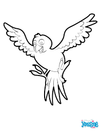 Tropical Bird Coloring Pages Hellokidscom