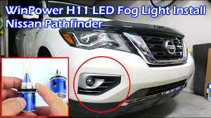 Install Winpower H11 6000k Led Fog Light Nissan Pathfinder
