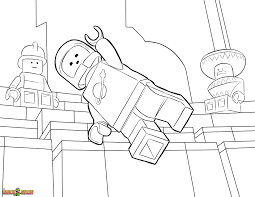 The Lego Movie Coloring Page Lego