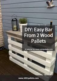 diy bar plans. DIY Easy Pallet Bar Plans Diy