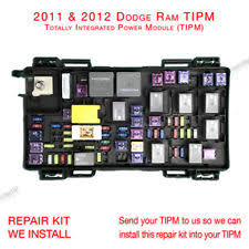 dodge ram fuse box ebay how does fuse box work 2011 2012 dodge ram 1500 2500 3500 tipm fuse box repair kit service