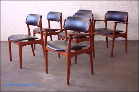 memorable erik buck danish mid century modern teak dining memorable erik buck danish mid century modern teak dining chairs o d mobler denmark