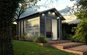 backyard office prefab. prefab backyard office dual studio contemporary studios by decorated shed picture