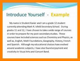 Describe Yourself Sample Essay 8 How To Describe Yourself Examples Letter Signature