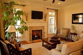 Warm Color Schemes For Living Rooms Paint Color Schemes Living Room House Living Room Design