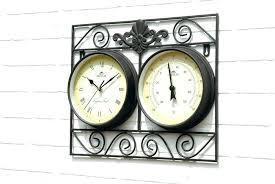 large outdoor clock movements