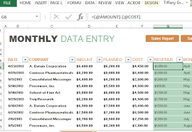 sales report example excel monthly sales report and forecast template for excel
