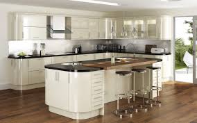 Delighful Fitted Kitchens Ideas Gloss Curved Kitchen Cabinets Bing Images And Perfect Design