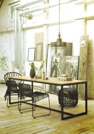 dining room with layered art home house interior decorating design dwell furniture decor fashion antique vine modern contemporary art loft real estate