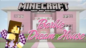 Build A Princess Bed Minecraft Xbox Barbie Dream House Princess Bed 1 Youtube