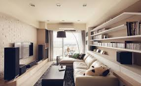 Marvelous Image Of: Great Design Of Long Narrow Living Room Decoration Idea