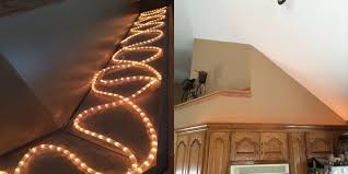 above cabinet lighting. above cabinet ambient lighting with rope lights and digital timer pinterest kitchens house