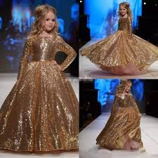 New Dress Design Pic Hot Item 2019 New Design Hot Sale Children Evening Dresses For The Stage Show