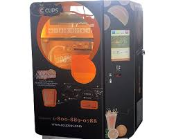 Fresh Juice Vending Machine Impressive KangGuo Orange Juice Vending Machine