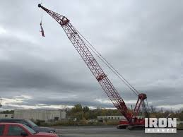 Manitowoc 16000 Load Chart 2013 Manitowoc 16000 Lattice Boom Crawler Crane In Syracuse