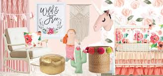 Boho Nursery Bedding & Accessories