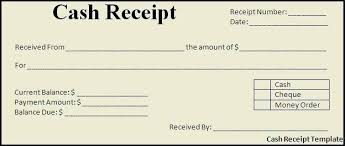 Paid Receipt Template Word Cash Payment Receipt Template Free Templates Formats And