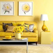 yellow walls living room pastel blue and yellow living room