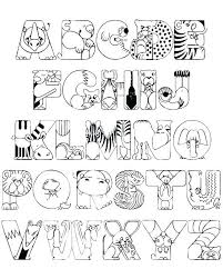 Free Coloring Pages Alphabet Letters Letter Printable Coloring Pages
