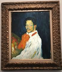 Picasso Bleu Et Rose Musée Dorsay Les Pérégrinations De