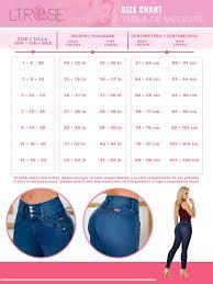Lt Rose Womens Butt Lifter Skinny Colombian Jeans