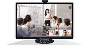 Video Conference Make Any Space A Video Conference Room Bluejeans Rooms