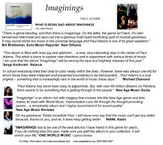 color my world sheet music paul adams music meditation thoughts musings arty things reviews