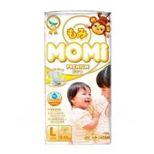 <b>Подгузники Momi Premium</b>, <b>L</b> (9-14 кг), 50 шт - <b>Подгузники</b> и ...