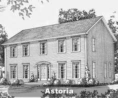 Canbury   Colonial  amp  GarrisonStyle  Colonial Living Space  sq ft  Baths    Bedrooms    Dimensions x   Options Shown  Yes Click for Floor Plan