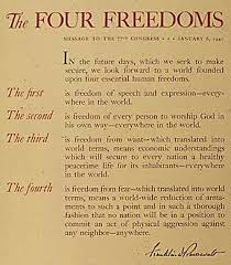 Image result for Four Freedoms