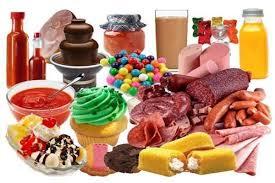 Resultado de imagen para alimentos procesados