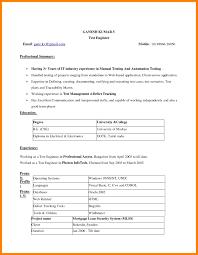 Resume Format Free Download In Ms Word Microsoft Word 2007 Resume