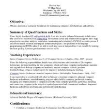 sample resume for computer technician remarkable resume sample technician sample veterinary technician resume o resumebaking computer technician sample resume